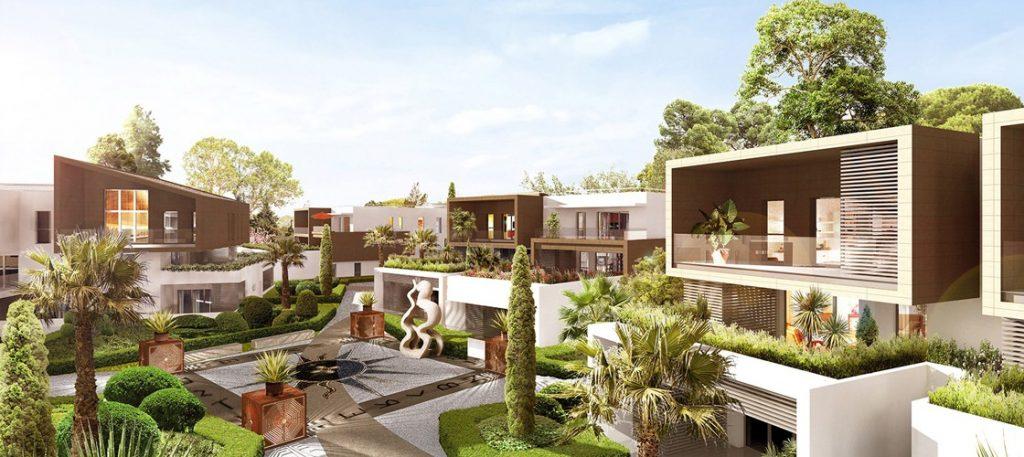 vente villa sur toit Lattes