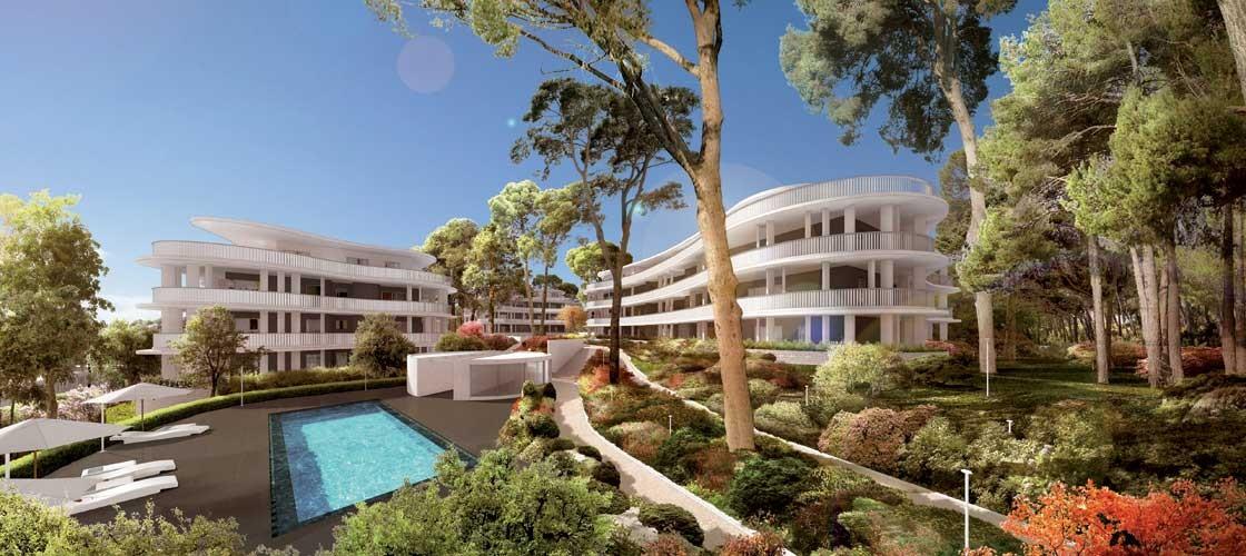 superbe appartement t3 avec grande terrasse sur castelnau le lez immobilier luxe montpellier. Black Bedroom Furniture Sets. Home Design Ideas