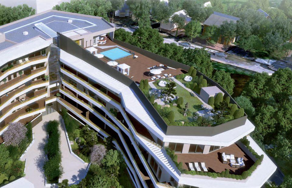 T4 spa jardin appartement prestige 34170