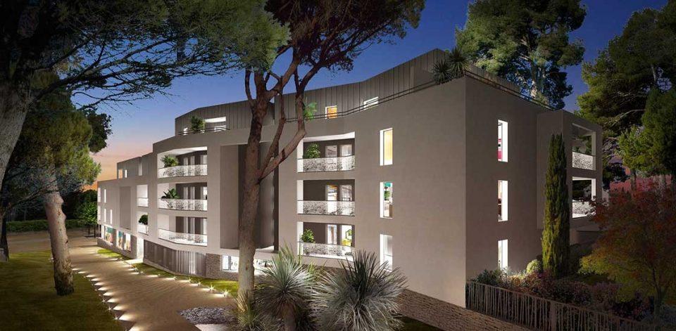 T4 dernier étage Castelnau le lez
